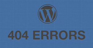 ошибка 404 в CMS вордпресс
