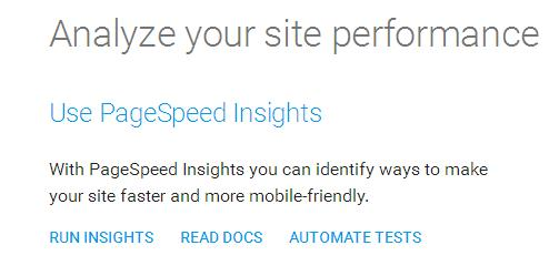 Проверяем скорость сайта в Google