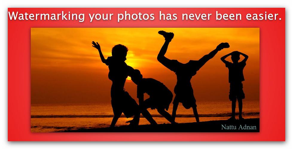 Как защитить фото или поставить водяной знак?