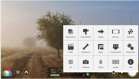Приложение FilMicPro для iphone