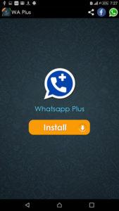 Установка Whatsapp plus на смарфтон