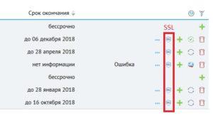 Установка SSL сертификата в меню вордпресс