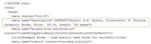 пример description в коде сайта