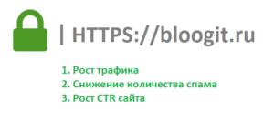 Новый защищенный SSL сертификат для сайта