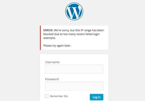 Ограничение числа авторизаций на WordPress